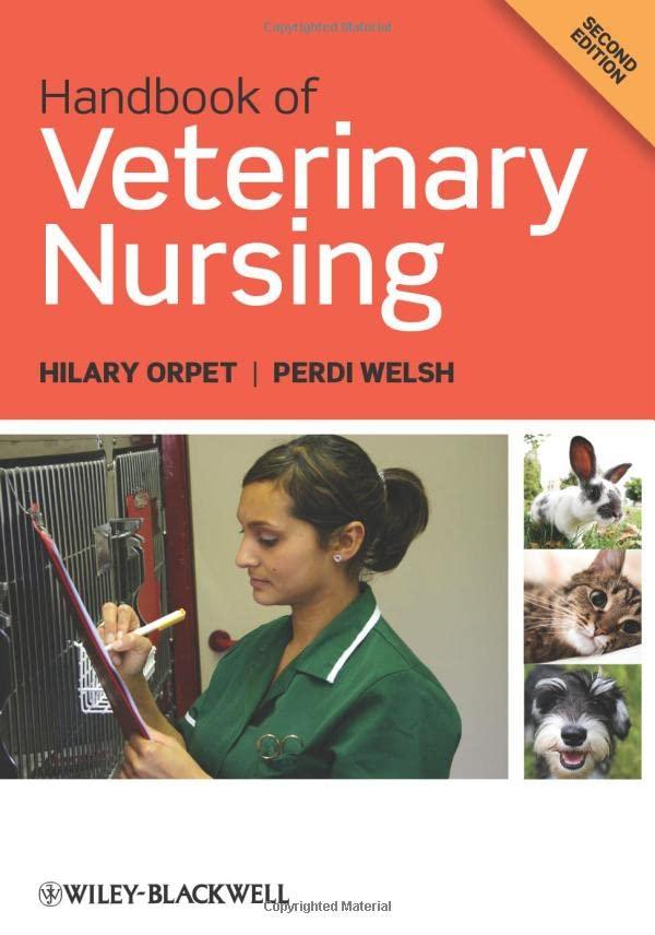 Handbook of Veterinary Nursing by Hilary Orpet