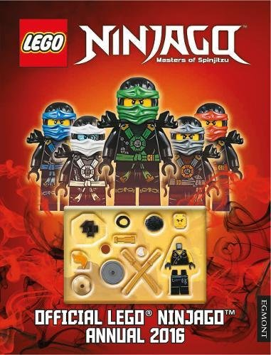 The Official LEGO Ninjago Annual: 2016 by Egmont UK Ltd