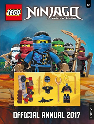 The LEGO Ninjago: Official Annual 2017 by Egmont Publishing UK