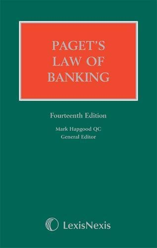 Paget's Law of Banking by Mark Hapgood