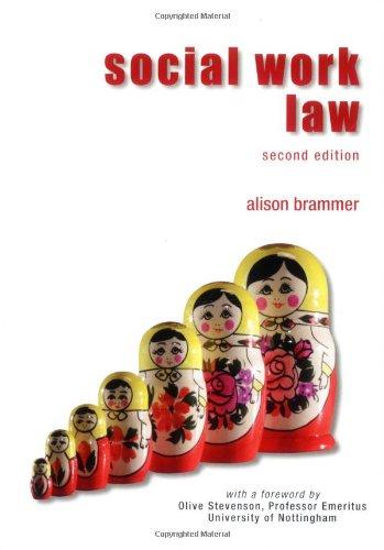 Social Work Law by Alison K. Brammer