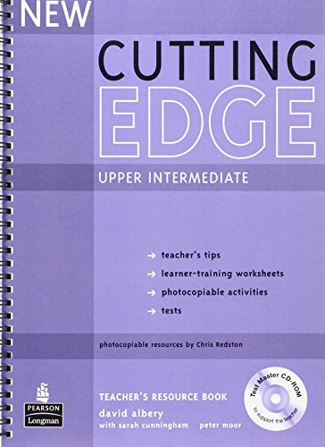 New Cutting Edge Upper Intermediate Teachers Book and Test Master CD-ROM Pack by David Albery