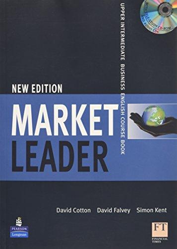 Market Leader Upper Intermediate Coursebook/Class CD/Multi-Rom Pack by David Cotton