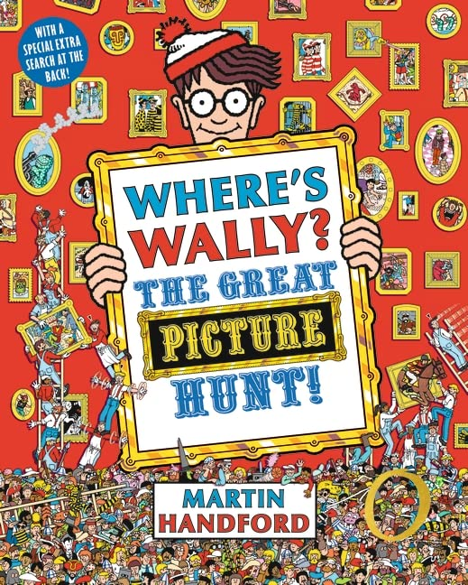 Where's Wally?: The Great Picture Hunt! by Martin Handford