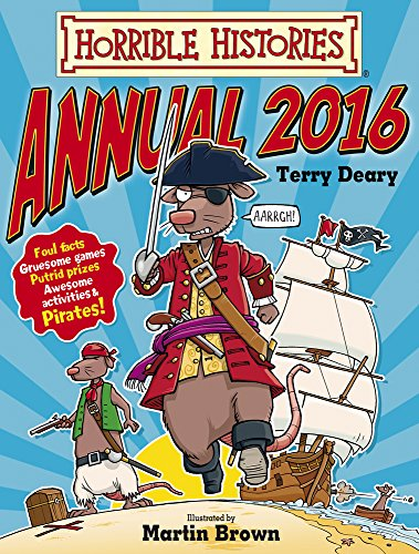 Horrible Histories Annual 2016: 2016 by Terry Deary