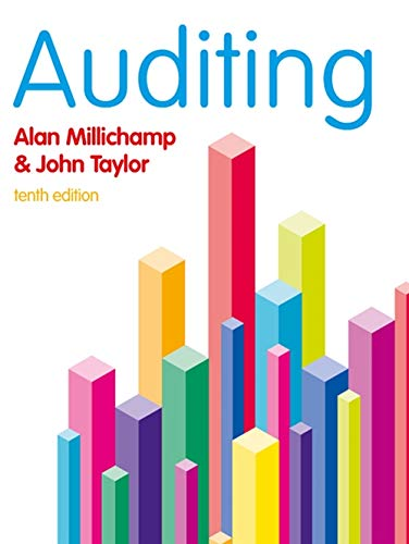 Auditing by Alan H. Millichamp
