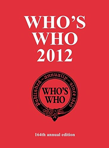 Who's Who 2012: 2012 by