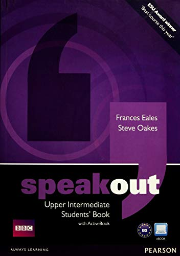 Speakout Upper-Intermediate Students Book and DVD/Active Book Multi Rom Pack by Frances Eales