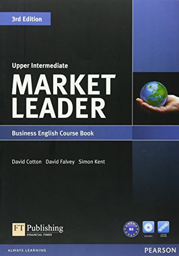 Market Leader Upper Intermediate Coursebook & DVD-ROM Pack by David Cotton