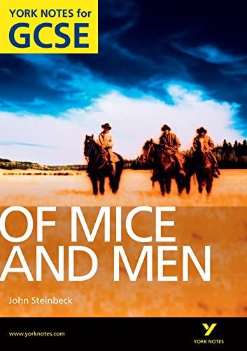 Of Mice and Men: York Notes for GCSE: 2010 by Martin Stephen