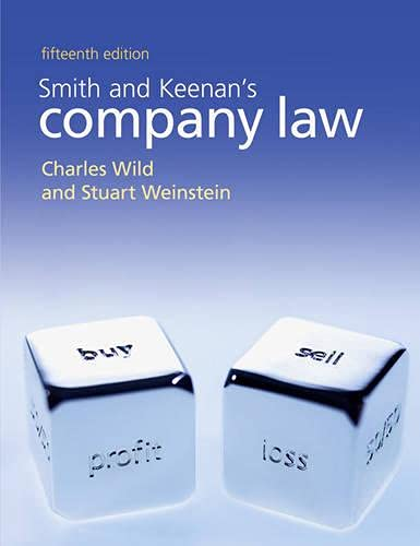 Smith and Keenan's Company Law by Charles Wild