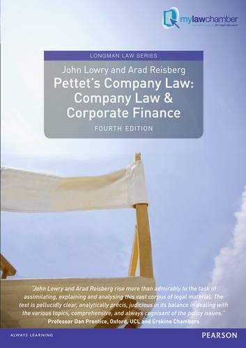 Pettet's Company Law: Company Law and Corporate Finance by John Lowry