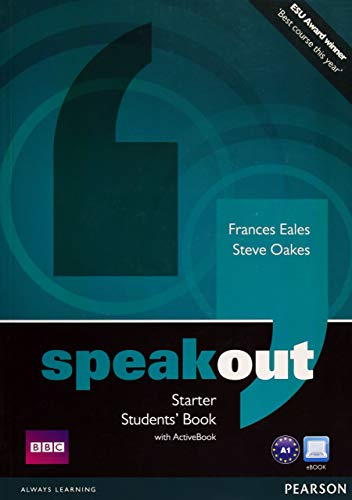 Speakout Starter Students Book with DVD/active Book Multi ROM Pack by Frances Eales