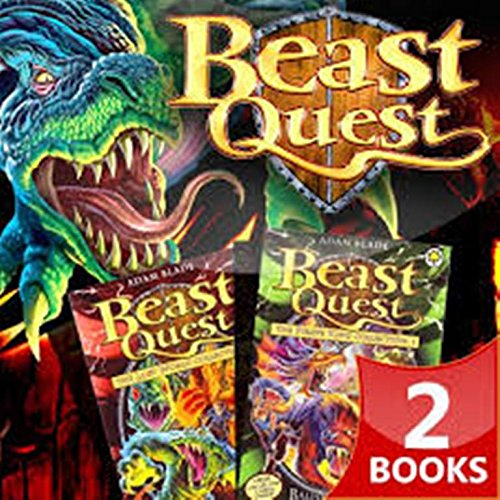 Beast Quest: the Lost World Collection: Part 1 by Adam Blade