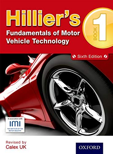 Hillier's Fundamentals of Motor Vehicle Technology: Book 1 by Alma Hillier