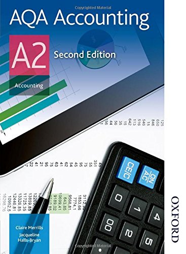 AQA Accounting A2 by Jacqueline Halls-Bryan