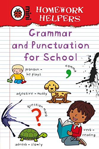 Homework Helpers: Grammar and Punctuation for School by Ladybird
