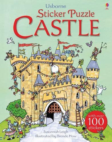 Sticker Puzzle Castle by Susannah Leigh