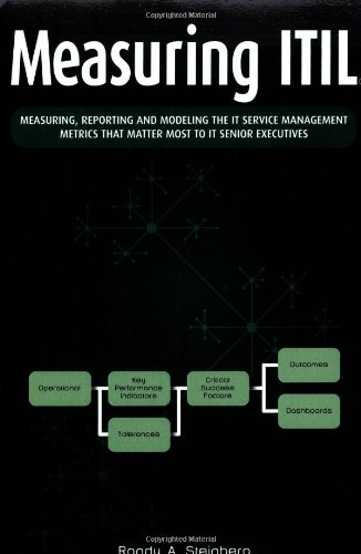 Measuring ITIL: Measuring, Reporting and Modeling - The IT Service Management Metrics That Matter Most to IT Senior Executives by Randy A. Steinberg
