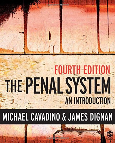 The Penal System: An Introduction by Michael Cavadino