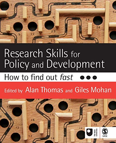 Research Skills for Policy and Development: How to Find Out Fast by Alan Thomas