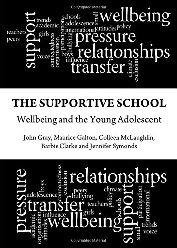 The Supportive School: Wellbeing and the Young Adolescent by John Gray