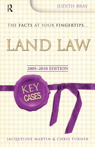 Key Cases Land Law by Judith Bray