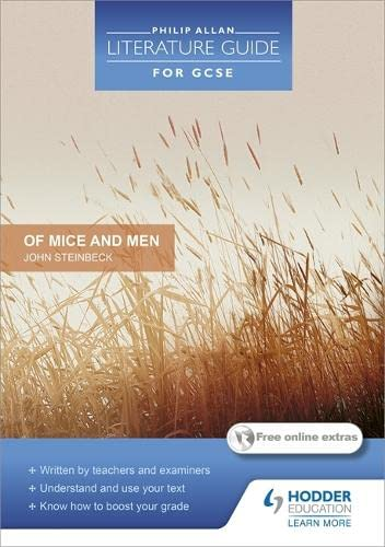 """Philip Allan Literature Guide (for GCSE): """"Of Mice and Men"""" by Steve Eddy"""