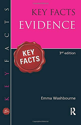 Key Facts Evidence by Emma Washbourne