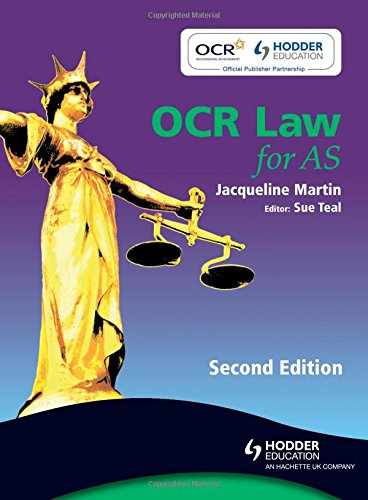 OCR Law for AS by Jacqueline Martin