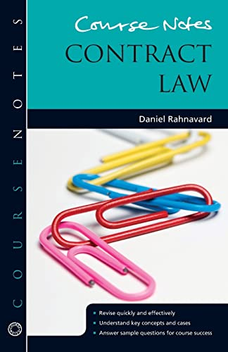 Course Notes: Contract Law by Daniel Rahnavard