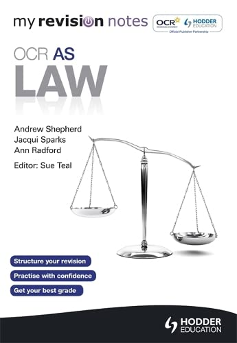 My Revision Notes: OCR AS Law by Sue Teal