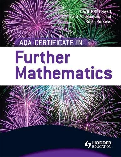 AQA Certificate in Further Mathematics by Val Hanrahan