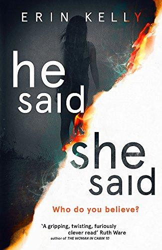 He Said/She Said by Erin Kelly