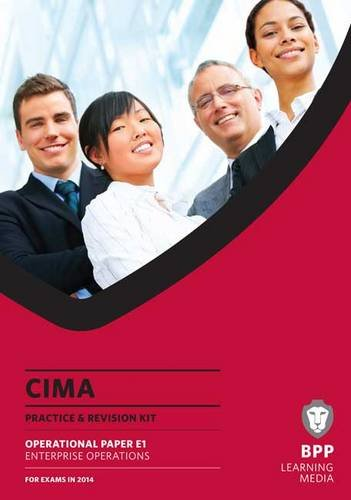 CIMA Enterprise Operations: Practice and Revision Kit by BPP Learning Media