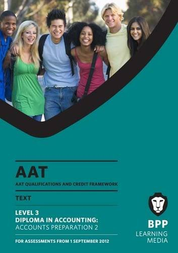 AAT - Accounts Preparation 2: Study Text (L3) by BPP Learning Media