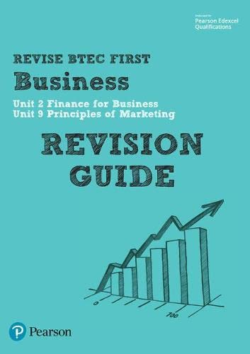 BTEC First in Business Revision Guide by
