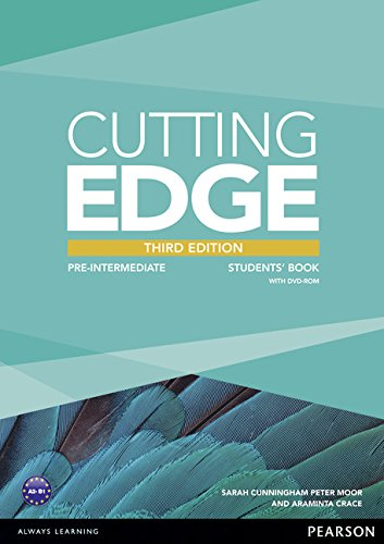 Cutting Edge: Pre-Intermediate Students' Book and DVD Pack by Araminta Crace