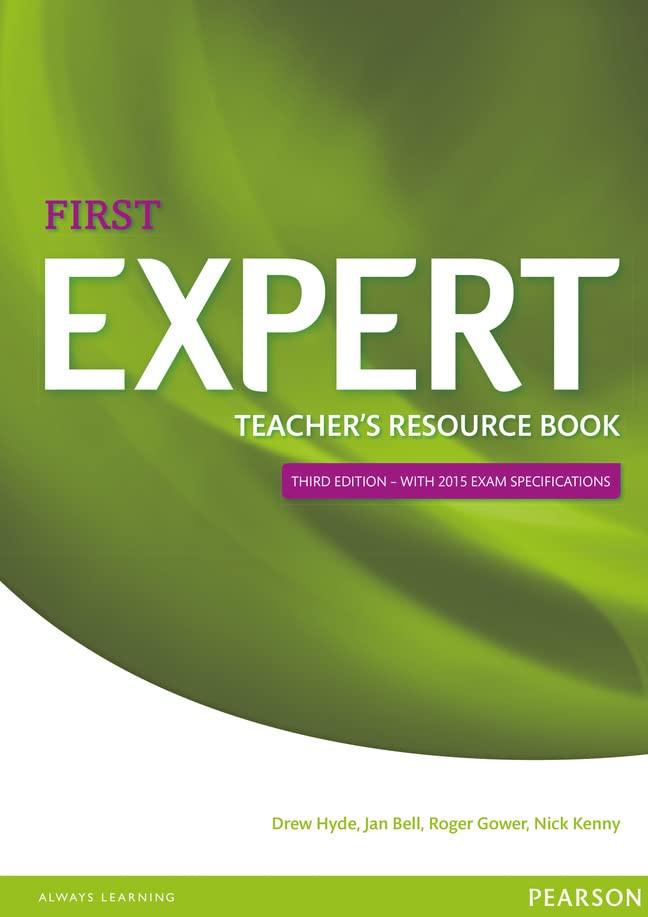 Expert First Teacher's Book by Drew Hyde