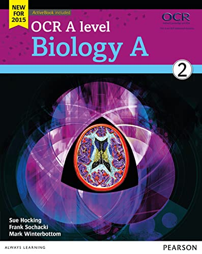 OCR A Level Biology A: 2015: Student book 2 by Sue Hocking