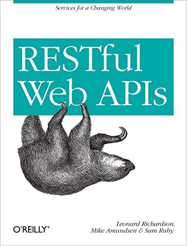 RESTful Web APIs by Leonard Richardson