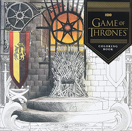 HBO's Game of Thrones Coloring Book by HBO