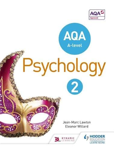 AQA A-Level Psychology: Book 2 by Jean-Marc Lawton