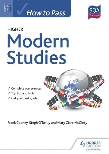 How to Pass Higher Modern Studies for CfE by Frank Cooney