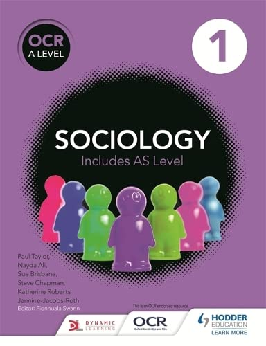 OCR Sociology for A Level: Book 1 by Fionnuala Swann