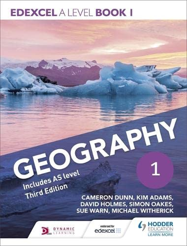 Edexcel A Level Geography: Book 1 by Cameron Dunn