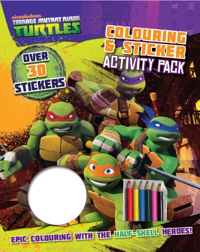 Nickelodeon Teenage Mutant Ninja Turtles Colouring and Sticker Activity Pack: Epic Colouring with the Half-Shell Heroes! by