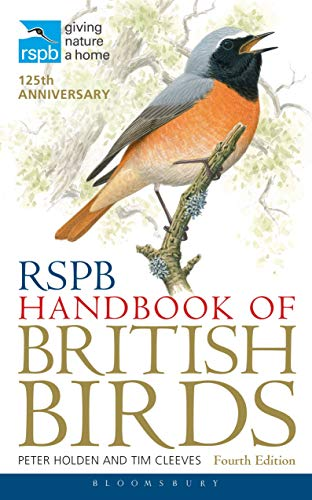 RSPB Handbook of British Birds by Tim Cleeves