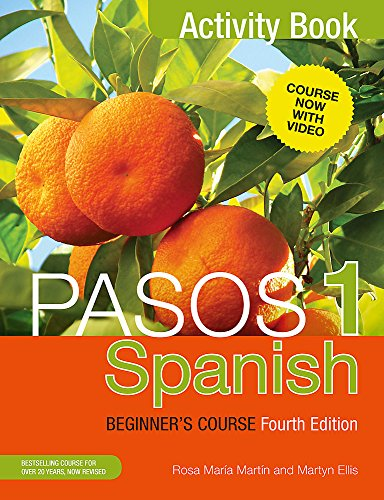 Pasos 1: Spanish Beginner's Course: Activity Book by Martyn Ellis