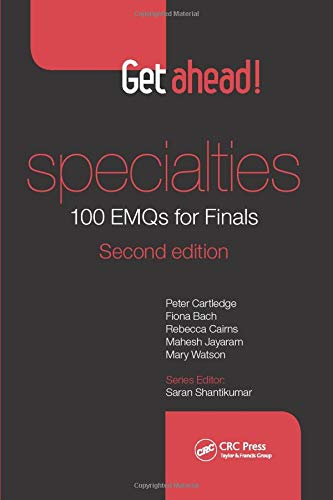 Get Ahead! Specialties 100 EMQs for Finals by Peter Cartledge